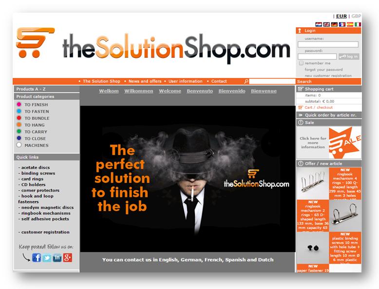 visit the solution shop